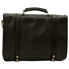 Calfskin Nappa leather briefcase - Black