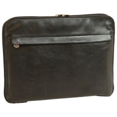 Leather Folder - Black