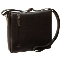 Lightweight Messenger Bag - Black