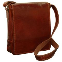 Borsa in pelle per I-Pad. Marrone