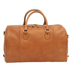 Leather Duffel Bag - Colonial