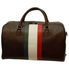 Cowhide Duffel bag - Dark Brown