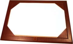 Leather Desk Pad - Brown