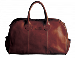 All-In-One Golf leather bag - Brown