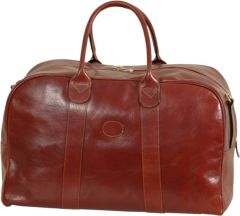 Tuscan Soul Leather Duffel Bag Bag - Brown