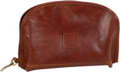 Tuscan Soul leather Accessory Case - Brown