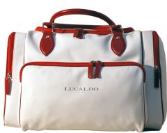 Selective Leather Duffel Bag- R&B